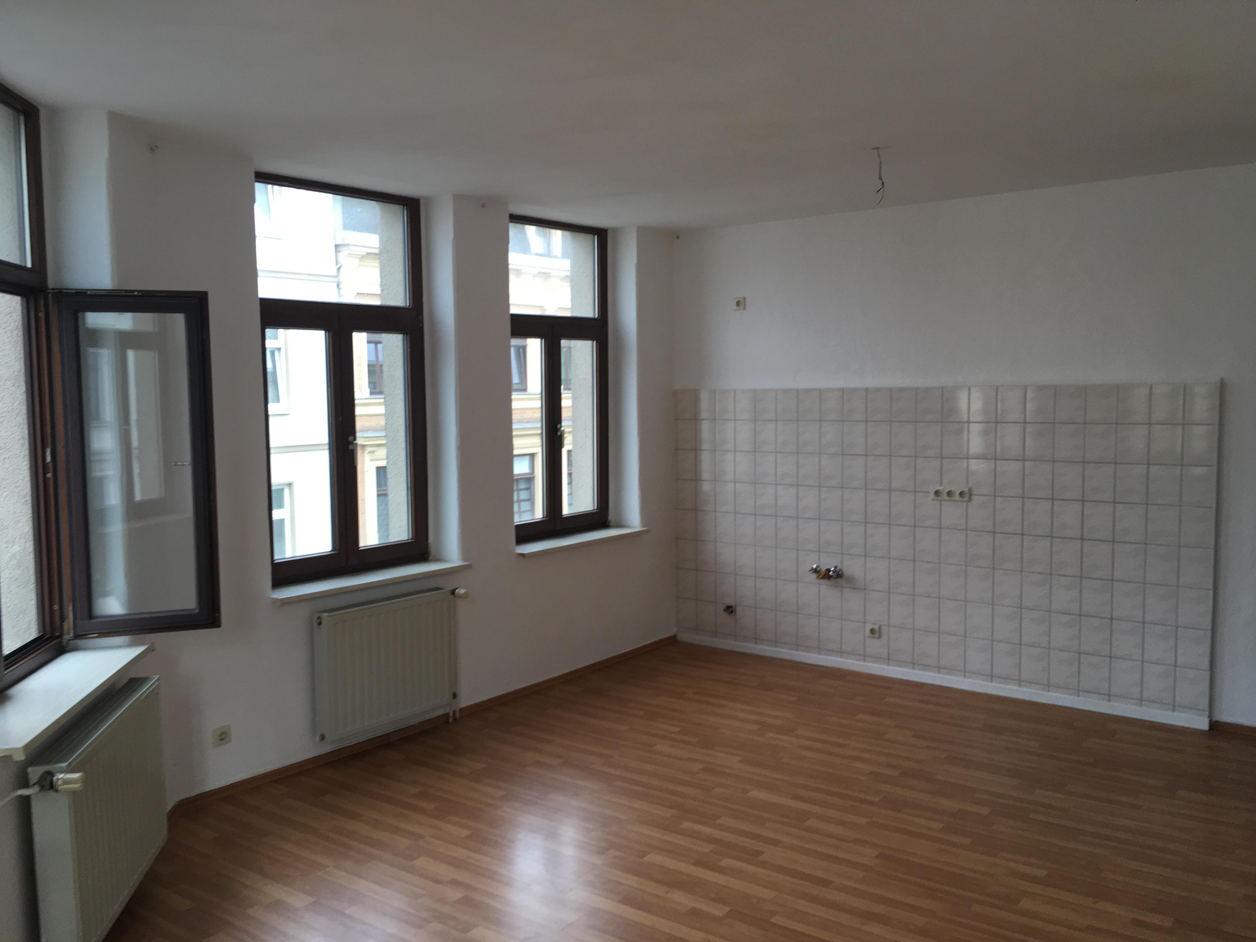 Foto - Wohnzimmer mit Küche